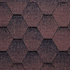 Кровельна плитка Джази коричневаяя(3 m2)