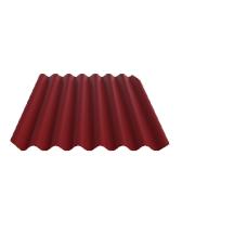 Фиброцементный лист FIBRODAH Classic (1750x1130 мм), бордо