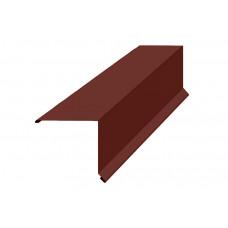 Ветровая планка FIBRODAH леваяНТ(L1000) , коричневая