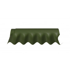 Деталь коньковая FIBRODAH (НТ) КС-1 1130 * 380, зеленая