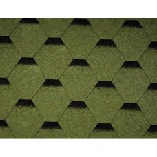 Битумная черепица Icopal Tema Shadow Зеленый лес(3 m2)