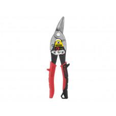Ножницы по листовому металлу STANLEY FatMax, левые изогнутые, 250 мм