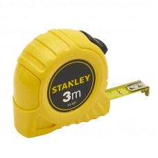 Рулетка STANLEY пластмассовый корпус, 3х12,7 мм