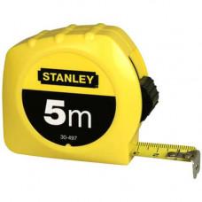 Рулетка STANLEY, пластмассовый корпус, 5х19 мм