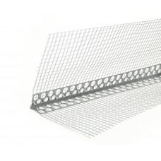 Уголок фасадный с сеткой пластиковый (2,5м)