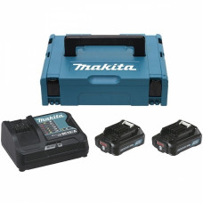 Набор аккумуляторов Makita CXT (BL1020Bx2, DC10SA, Makpac 1)
