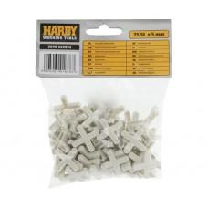 Крестики для кафеля Hardy 5 мм, 75 шт