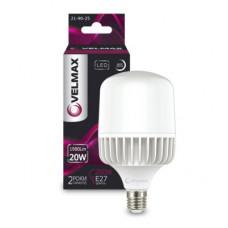 LED лампа VELMAX V-A65, 20W, Е27, 6500K, 1900Lm