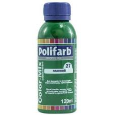 Колорант Polifarb Сolor-Mix зеленый 120 л