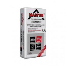 Цементно-песчаная смесь универсальная 3 в 1 Classik Master (25 кг)