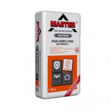 Клеевая смесь для пенопласта Exoterm (от -5С) Master (25кг)