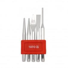Зубила и керны YATO, комплект 5 шт