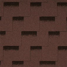 Битумная черепица Icopal Claro Shadow Коричневий(3 m2)