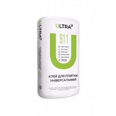 Клей для плитки универсальный ULTRA - 911, 25кг