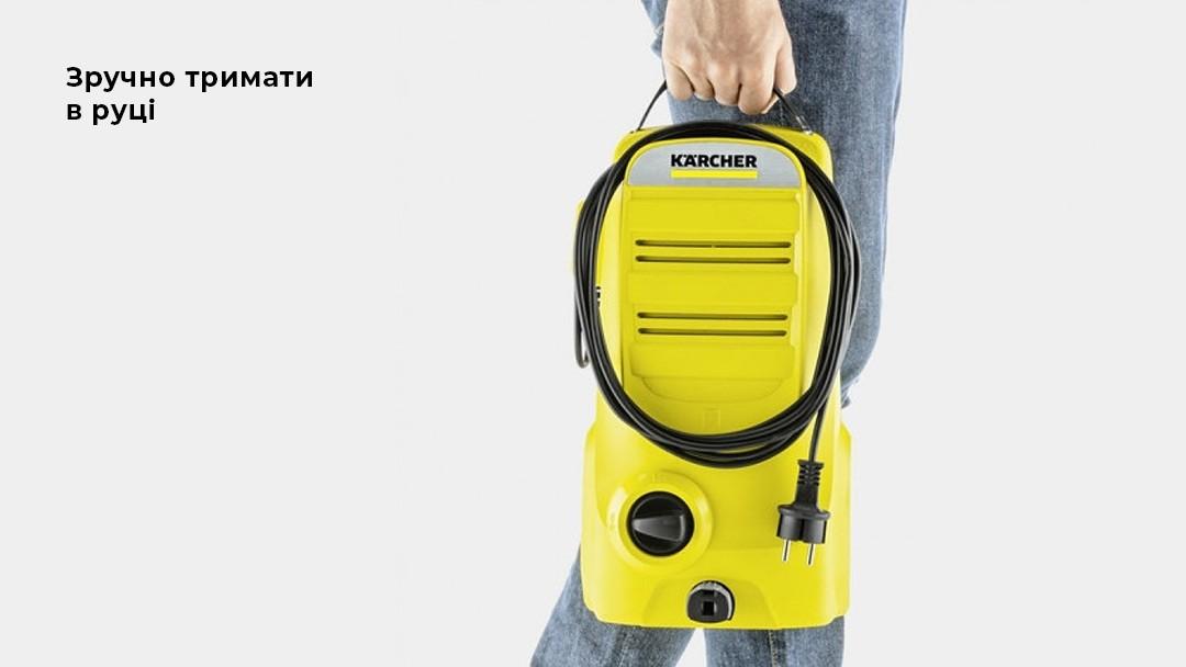 Зручна в транспортуванні Karcher K2 Compact